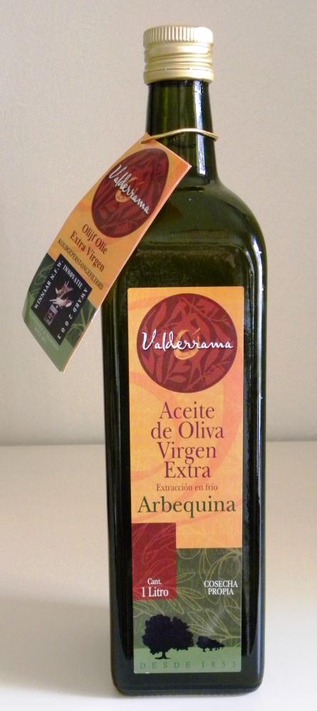 Valderrama de ongefilterde olijfolie