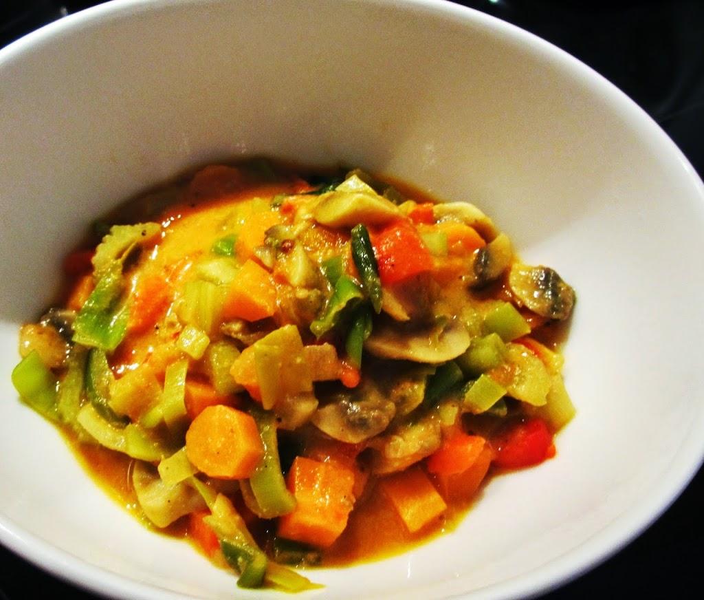 Vegetarische curry