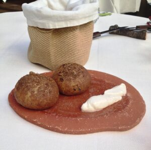 Broodjes van gefermenteerde zaden