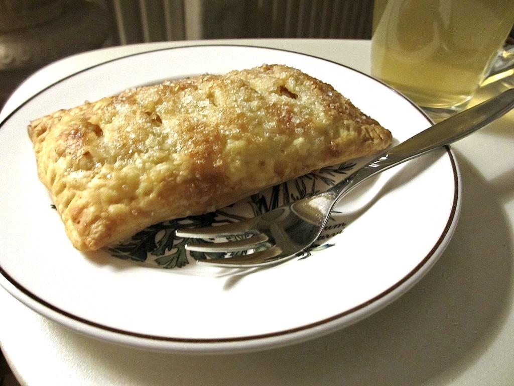 Hand pie of appelflap op Amerikaanse wijze