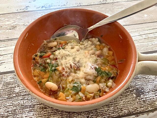 Italiaanse bonensoep uit de Pastabijbel