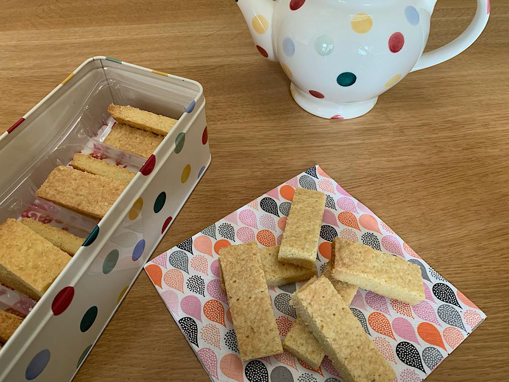 Shortbread een traditioneel Engels koekje