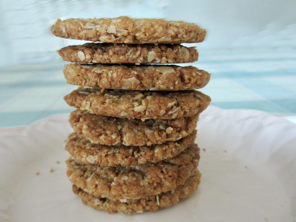 Anzac koekjes met havermout en kokos