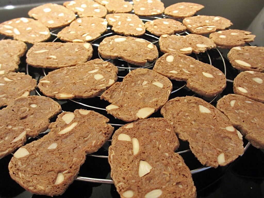 Pain d'amande flinterdunne Vlaamse koekjes