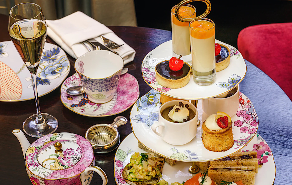 Afternoon tea op Windsor Castle