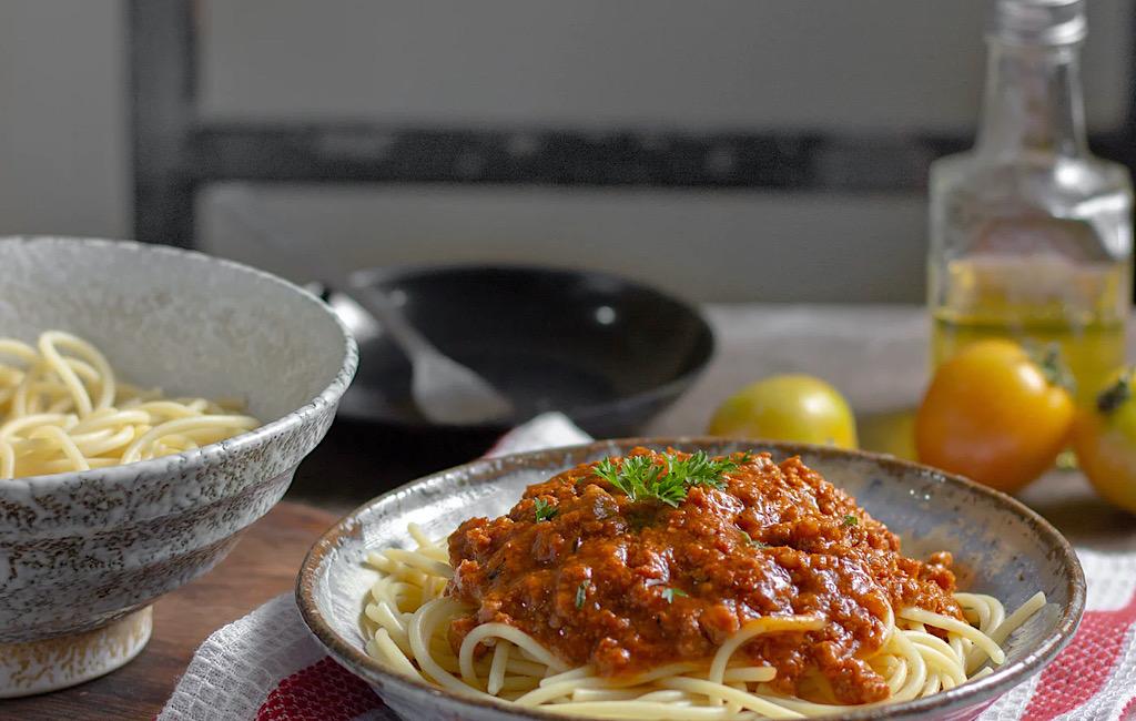 Zelfgemaakte pasta zovee