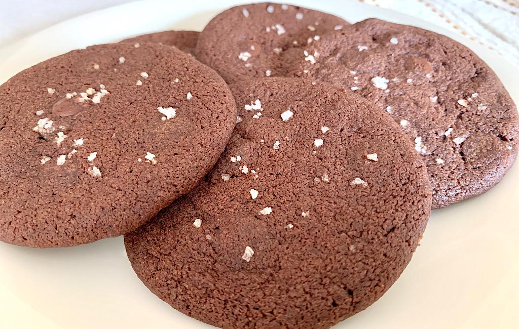 Chocoladekoeken met zeezout van Nigella Lawson