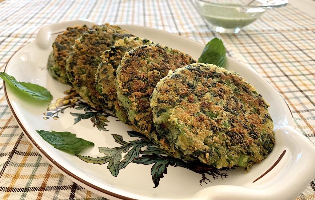 Hara bhara kebab of Indiase groenteburgers